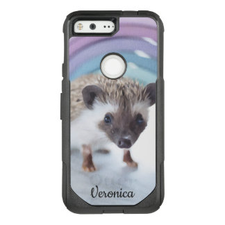 Personalized Colorfully Tiny Hedgehog OtterBox Commuter Google Pixel Case