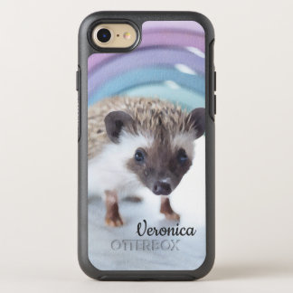 Personalized Colorfully Tiny Hedgehog OtterBox Symmetry iPhone 8/7 Case