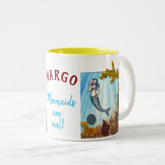 """Personalized Combo Mug """"Mermaids are Real"""""""