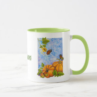 Personalized Combo Mug with Butterflies