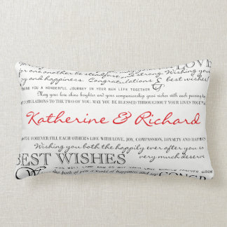 Personalized Congratulations Pillow