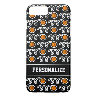 Personalized cool basketball sports pattern design iPhone 8 plus/7 plus case