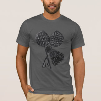 Personalized Cool Gift for Badminton Players T-Shirt