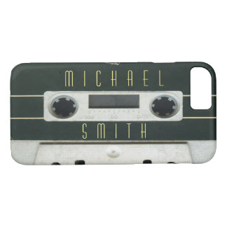 Personalized  cool vintage cassette iphone 7 case