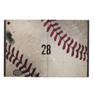 Personalized Cool Vintage Grunge Baseball Case For iPad Air