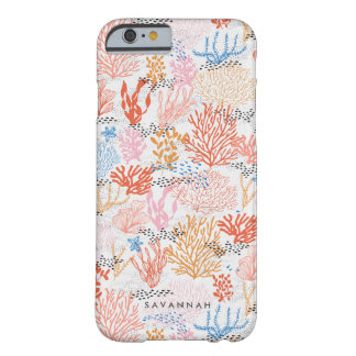 Personalized | Coral Reef Barely There iPhone 6 Case