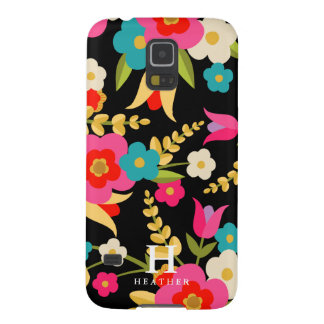 Personalized | Country Flowers Galaxy S5 Case