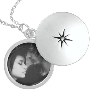 Personalized Couple Photo Charm Necklace