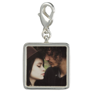 Personalized Couple's Photo  Charm