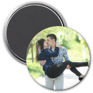 Personalized Couples Photo Magnet