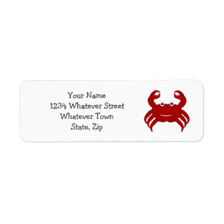Personalized Crab Design