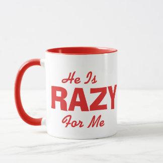 Personalized crazy mug