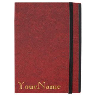 Personalized Crimson iPad Pro Case