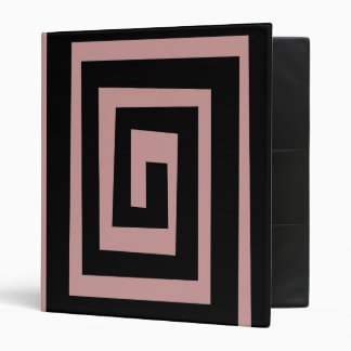 Personalized custom 3 ring avery binder maze