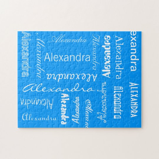 Personalized & Custom Colour Jigsaw Puzzle