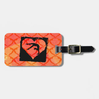 Personalized Custom Dance Gymnastics Luggage Tag