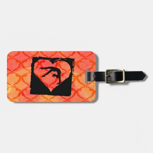Personalized Custom Dance Gymnastics Bag Tags