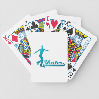 Personalized Custom Figure Skate Giftware Poker Deck