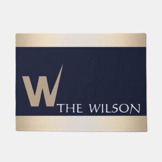 Personalized Custom Monogram Doormat
