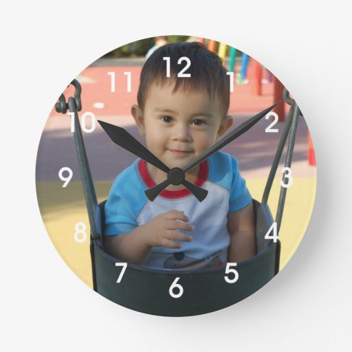 Personalized Custom Photo Wall Clock
