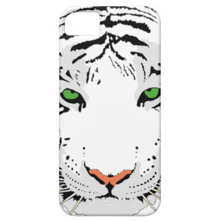 Personalized Custom Snow Tiger Case For The iPhone 5