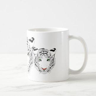 Personalized Custom Snow Tiger Coffee Mug