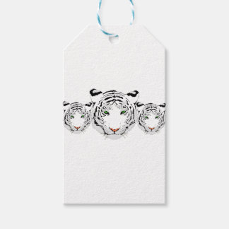 Personalized Custom Snow Tiger Pack Of Gift Tags