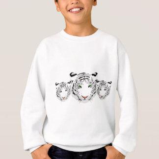 Personalized Custom Snow Tiger Sweatshirt