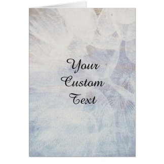 Personalized Custom Text - Natural Elegant Look Card