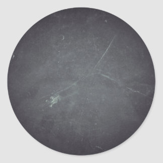 Personalized Custom Your Own Black Chalkboard Classic Round Sticker