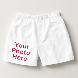 Personalized Customized DIY Photo Men's Boxers