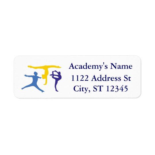 Personalized Customized Gymnastics Business Supply