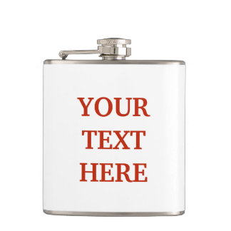 Personalized customized hip flask