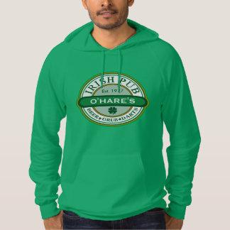 Personalized Customized IRISH PUB Hoodie