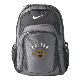 Personalized Cute Football Backpack