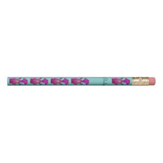 Personalized cute pencil - Lila