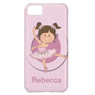 Personalized Cute Pink Ballerina 1 iPhone 5C Case