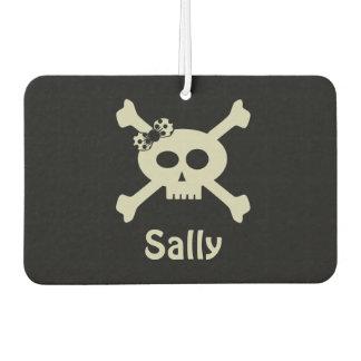 Personalized Cute Pirate Flag Air Freshener