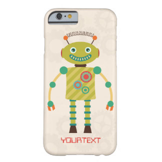 Personalized Cute Retro Robot Sci Fi iPhone 6 Case