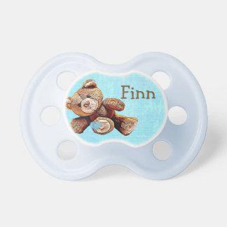 Personalized cute Teddy Bear Baby Boy's Pacifier