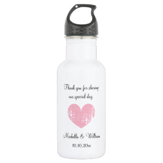 Personalized cute wedding party favor water bottle
