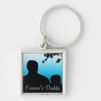 Personalized Daddy Keychain