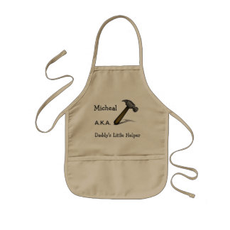 Personalized Daddy's Little Helper Apron