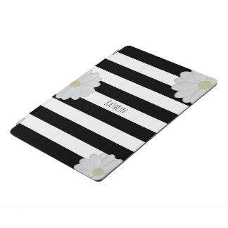 Personalized Daisy Striped iPad Pro Cover
