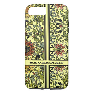 Personalized Damask iPhone Cover-You Choose Color iPhone 7 Plus Case