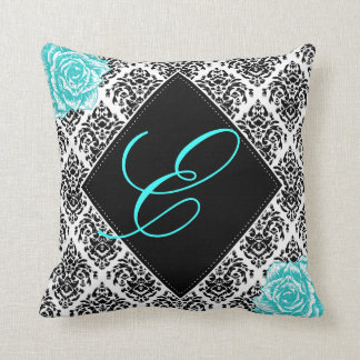 Personalized Damask Nursery Accent Pillow