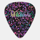 Personalized Dance and Music Notes Guitar Pick