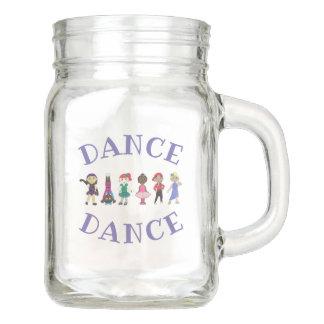 Personalized DANCE Dance Teacher Jazz Tap Lyrical Mason Jar