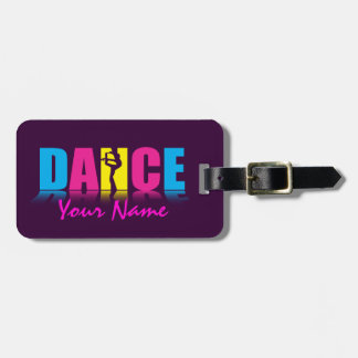 Personalized Dance Dancer Luggage Tag
