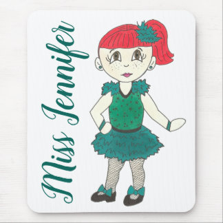 Personalized Dance Teacher Gift Tap Recital Class Mouse Pad